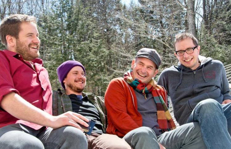 Waxwing Four - male quartet