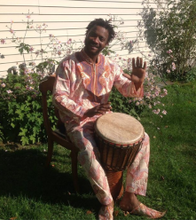 African Djembe Player