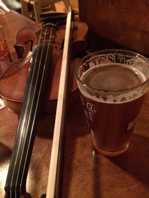 Fiddle and beer