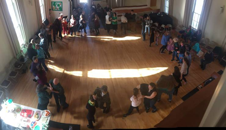 traditional irish ceilidh
