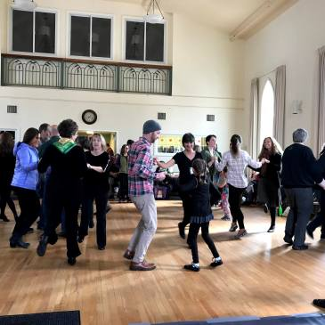 irish community dance